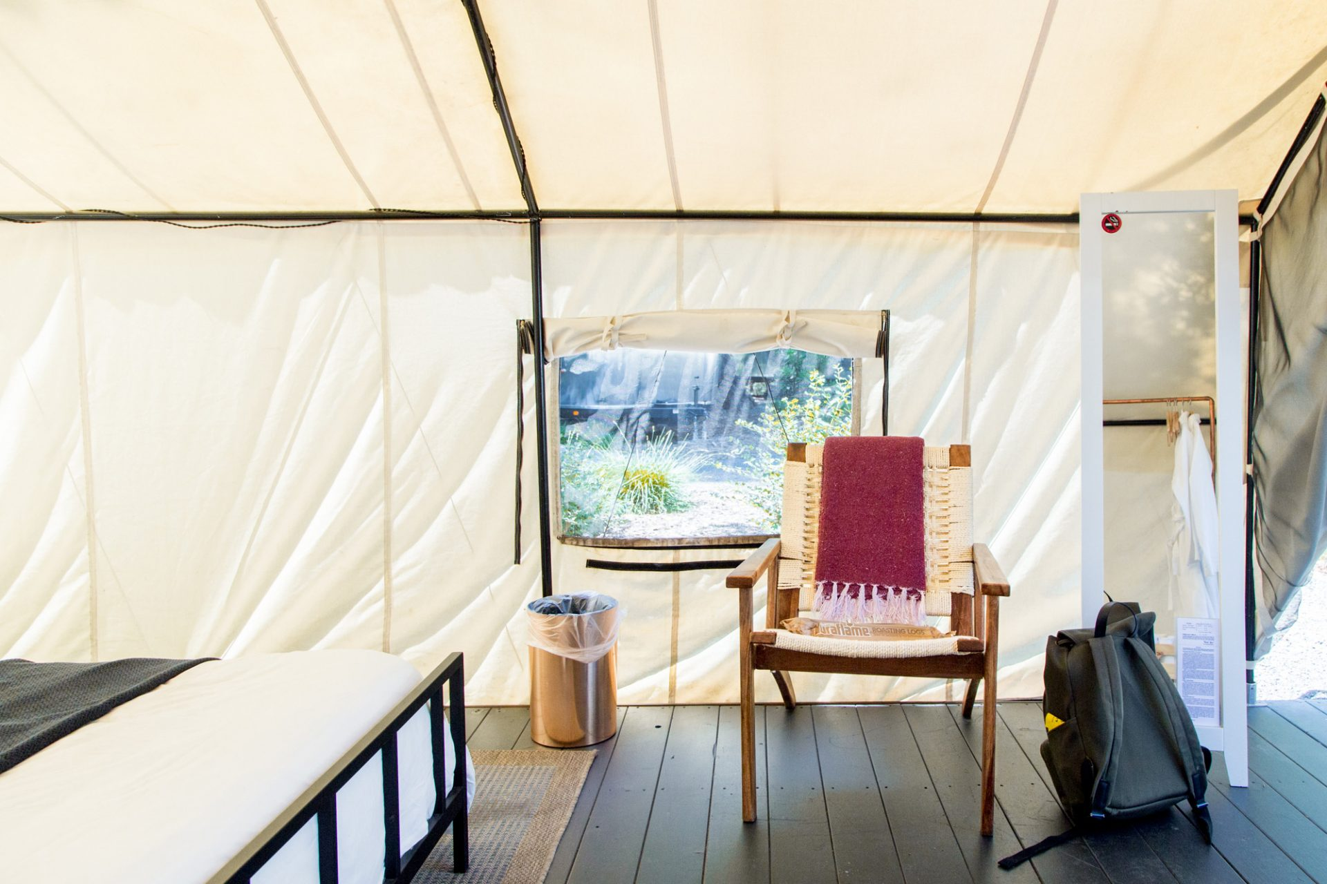 AutoCamp Luxury Tent Seating
