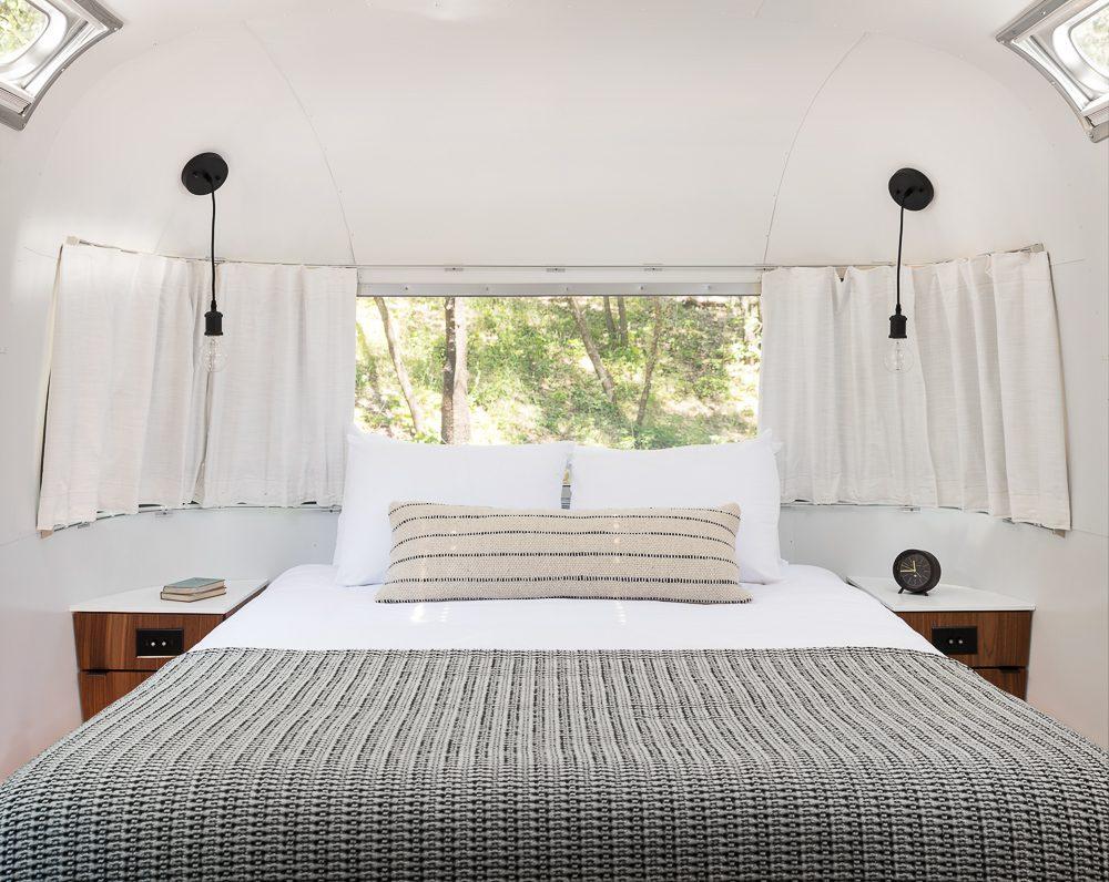AutoCamp Airstream bedroom