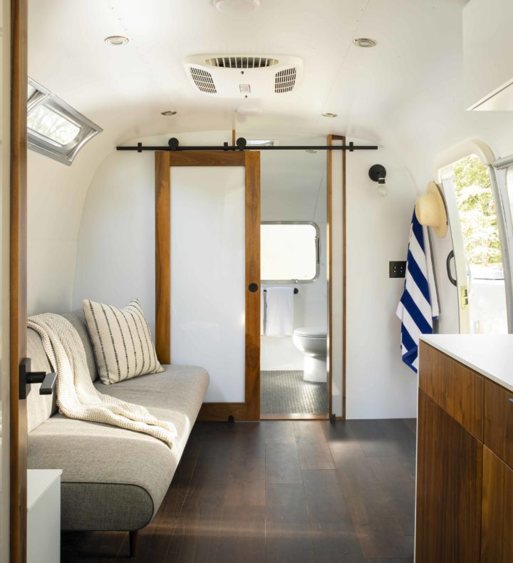 Cape Cod Airstream Interior