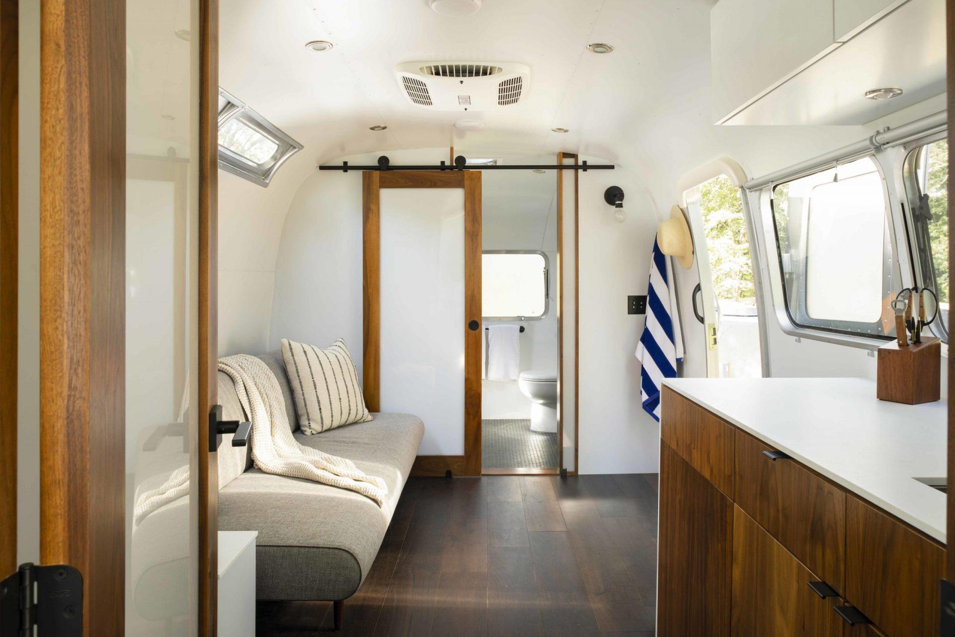 Cape Cod Airstream Interior