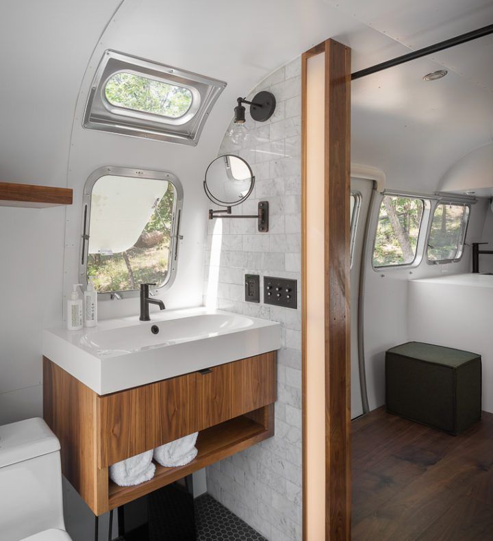AutoCamp Airstream Bathroom