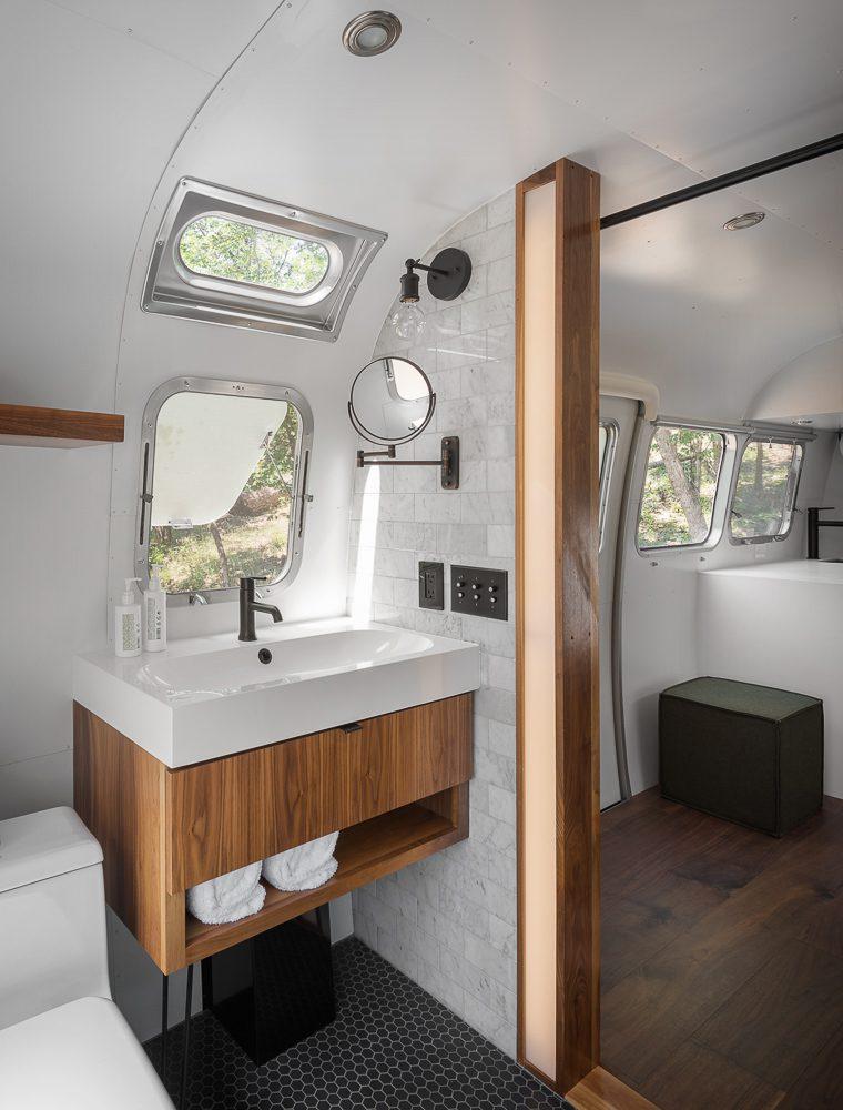 AutoCamp Airstream Bathroom