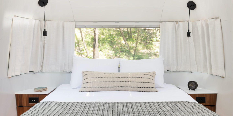 AutoCamp Airstream Master Bedroom