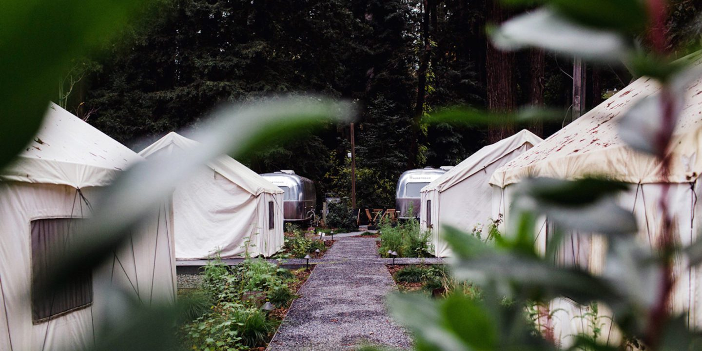 Luxury Tents at AutoCamp Russian River