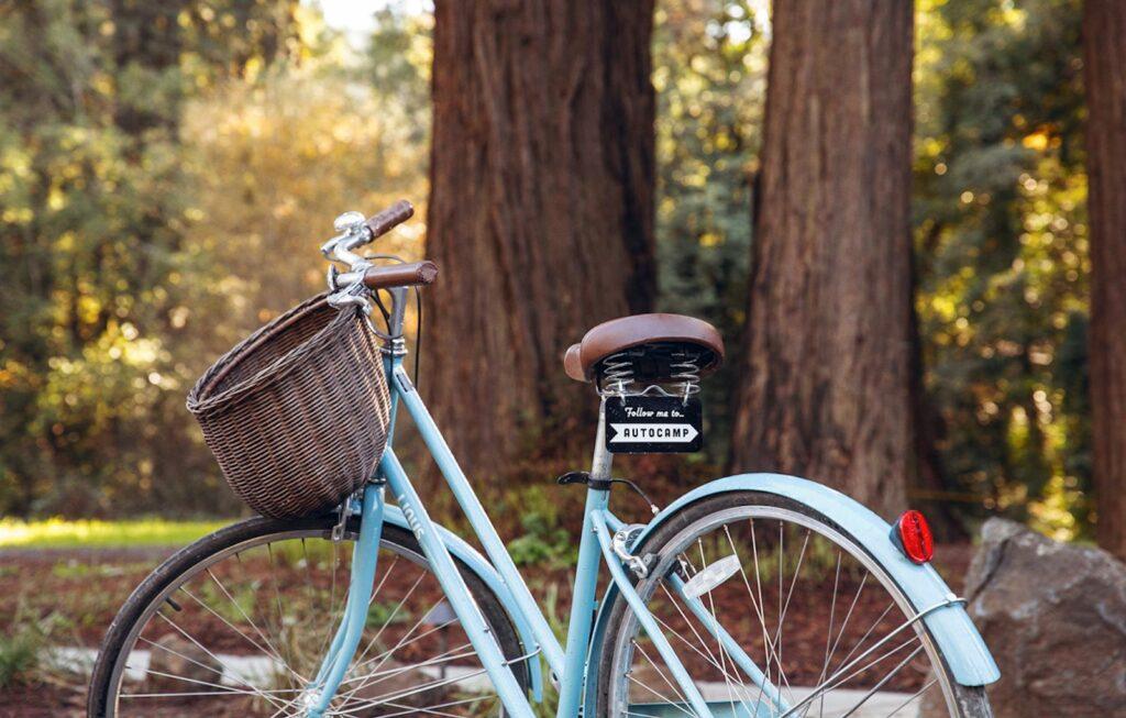 Biking at AutoCamp